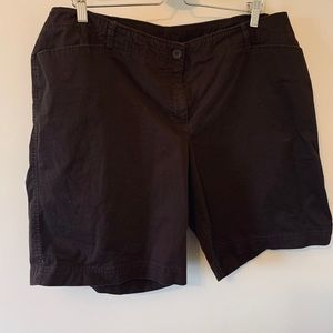 2/$18 Brown / Stretch / Shorts